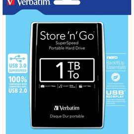 Verbatim 1 TB externe harddisk USB 3.0