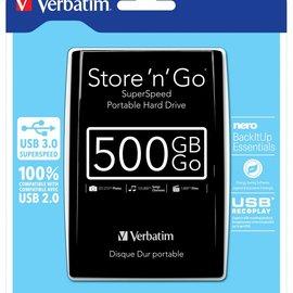 Verbatim 500 GB externe harddisk USB 3.0