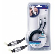 HQ Digitale audiokabel TosLink Male - TosLink Male 2.5 m