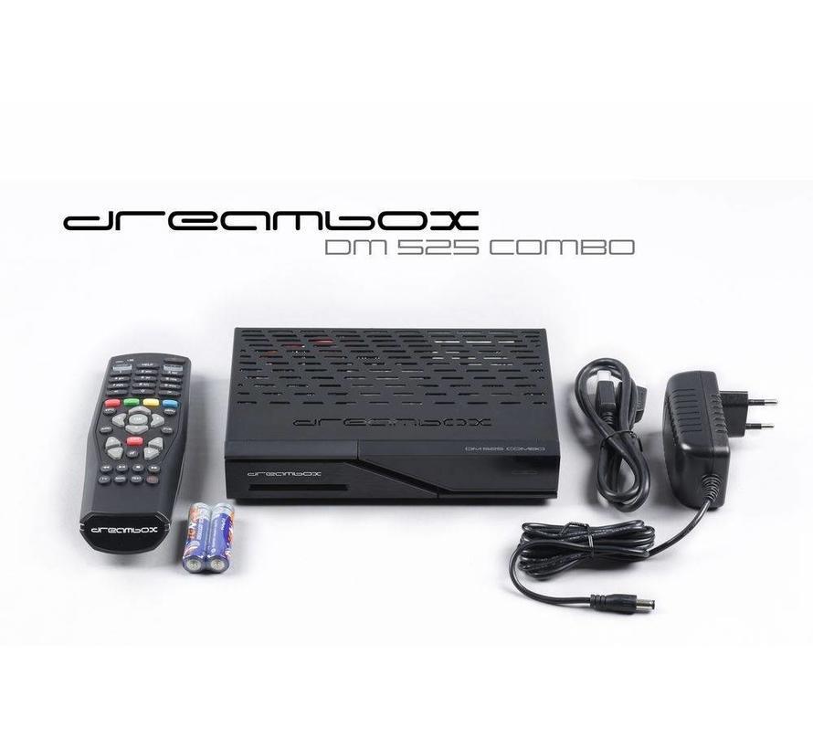 Dreambox DM 525 Combo DVB-S2 en DVB- C/T2