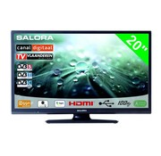 """Salora Salora 20"""" LED 9109 DVB C/T(2)/S-S2"""