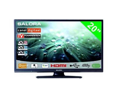 """Salora Salora 20"""" LED 9109 DVB C/T(2)/S-S2 12-230V"""