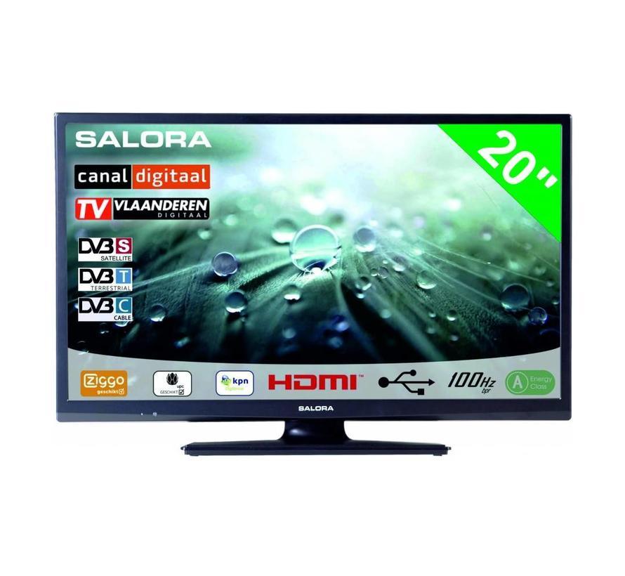"""Salora 20"""" LED 9109 DVB C/T(2)/S-S2 12-230V"""