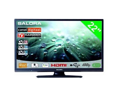 """Salora Salora 22"""" LED 9109 DVB C/T(2)/S-S2 12-230V"""