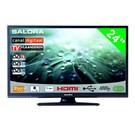 """Salora 24"""" LED 9109 DVB C/T/S-S2"""