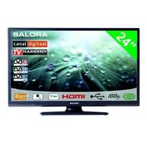 """Salora Salora 24"""" LED 9109 DVB C/T/S-S2 12-230V"""