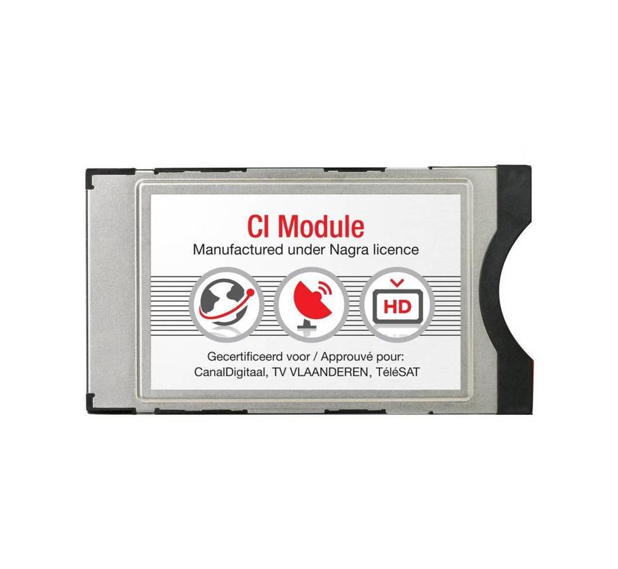 Canal Digitaal en TV Vlaanderen CI+ module