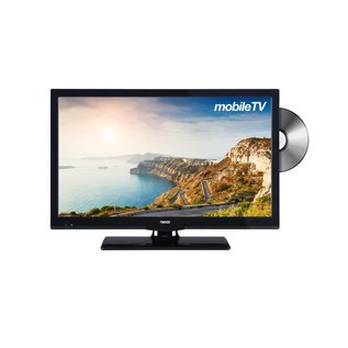 "Nikkei NLD20MBK 20"" 12V LED DVD DVB-S2/T/C CI+ Ziggo/M7"
