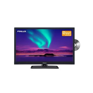 "Finlux Finlux FLD2222 22"" 12V LED FULLHD DVD DVB-T/C CI+ Ziggo Cert"