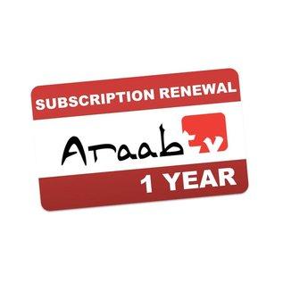 verlenging AraabTV 12 maanden IPTV