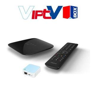VIPTV VIPTV ontvanger mét WiFi client geschikt met 1 jaar toegang