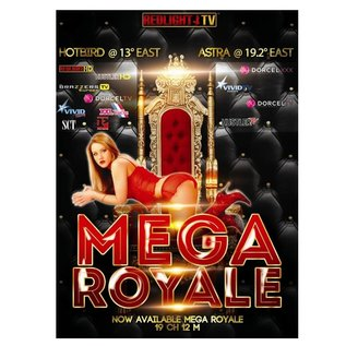 Redlight MEGA Elite Royale 19 zenders Viaccess jaarkaart