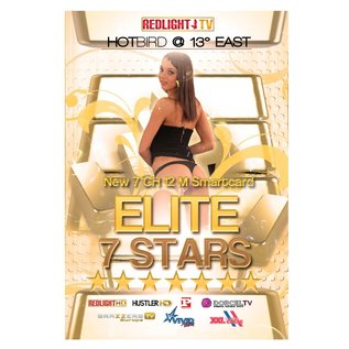 Redlight Elite 7 Stars jaarkaart Viaccess