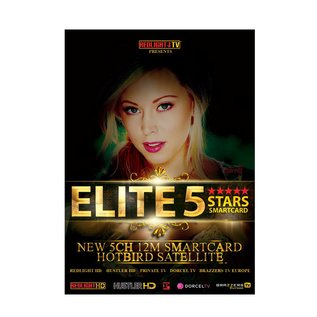 Redlight Elite 5 Stars jaarkaart Viaccess