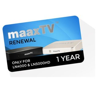 verlenging MaaxTV 12 maanden IPTV