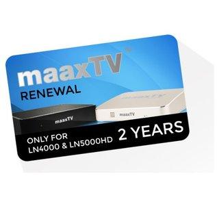 verlenging MaaxTV 24 maanden IPTV