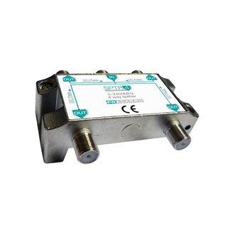 Fracarro Fracarro SPTR4 signaal splitter 4 voudig 5-2400Mhz