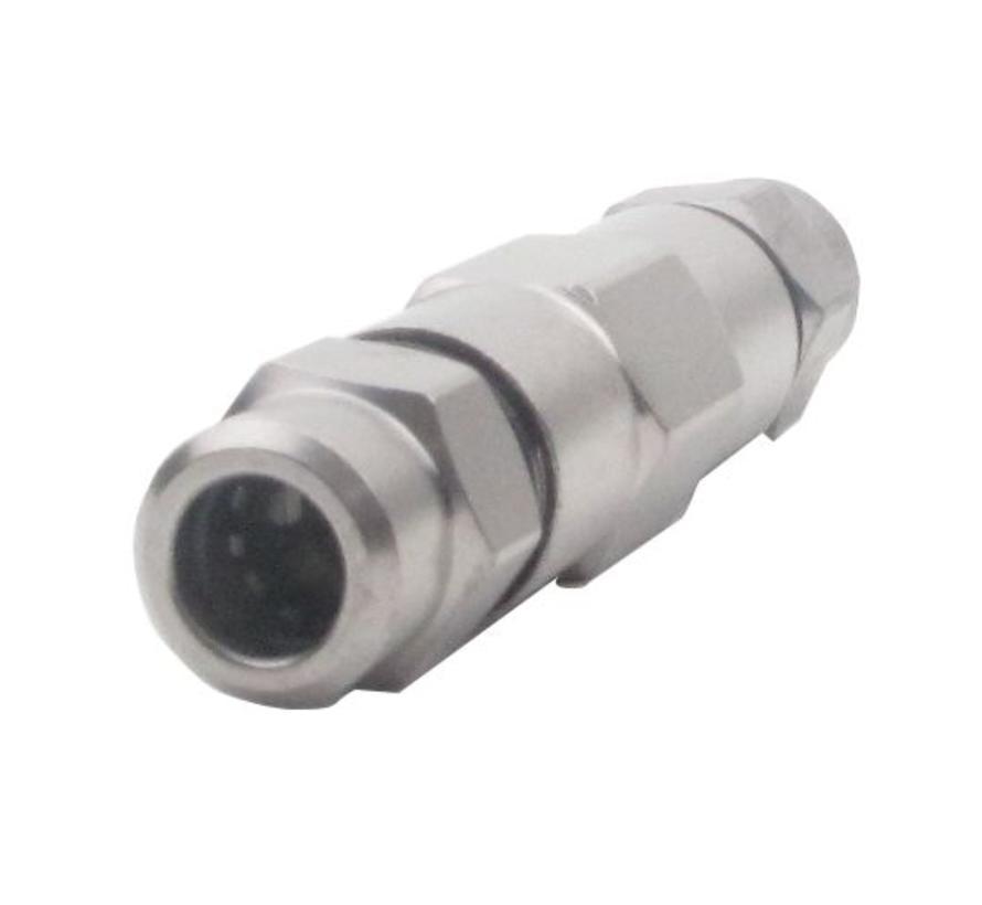 PPC A025-SPL Koppeling coax 12 / coax 12