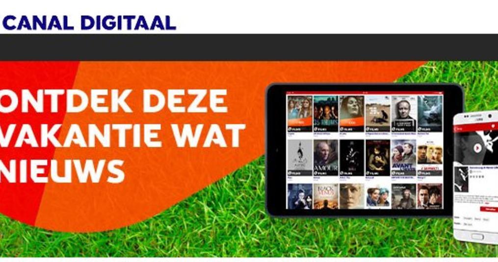 Canal Digitaal uitbreiding App en volgt Joyne in flexibel abonnement