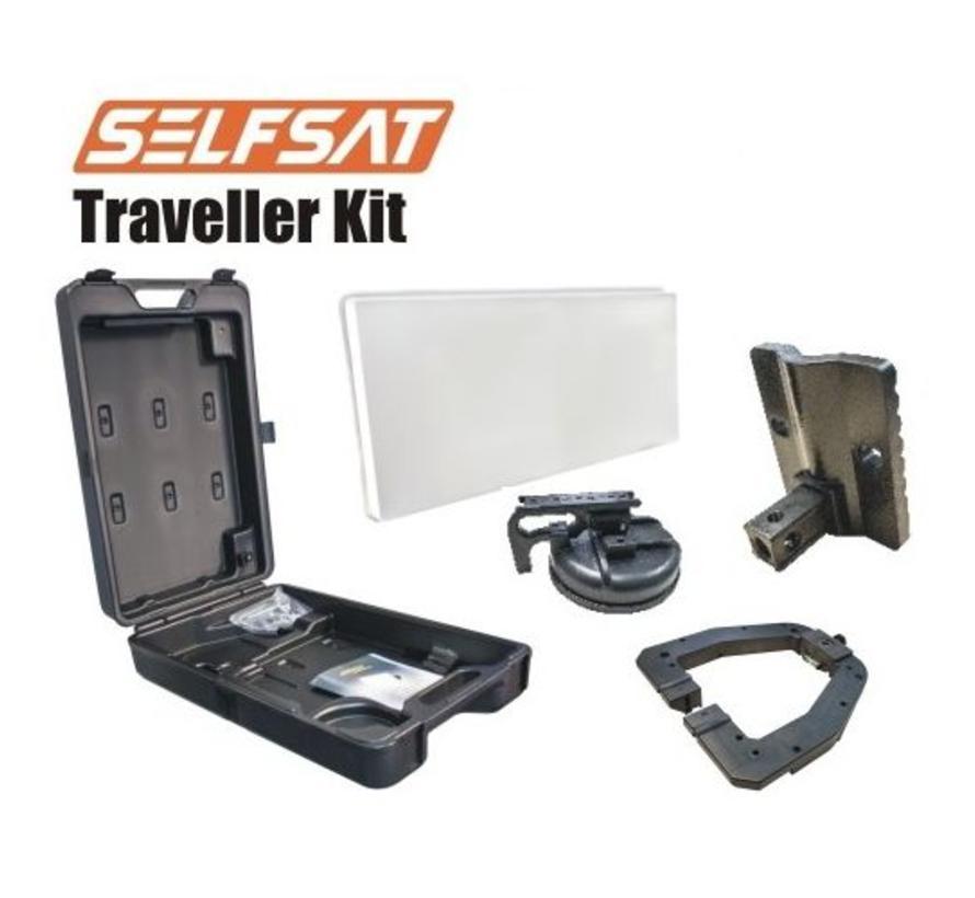 Selfsat Traveller Kit TK30D single Camping Koffer