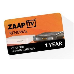 verlenging ZaapTV 12 maanden IPTV