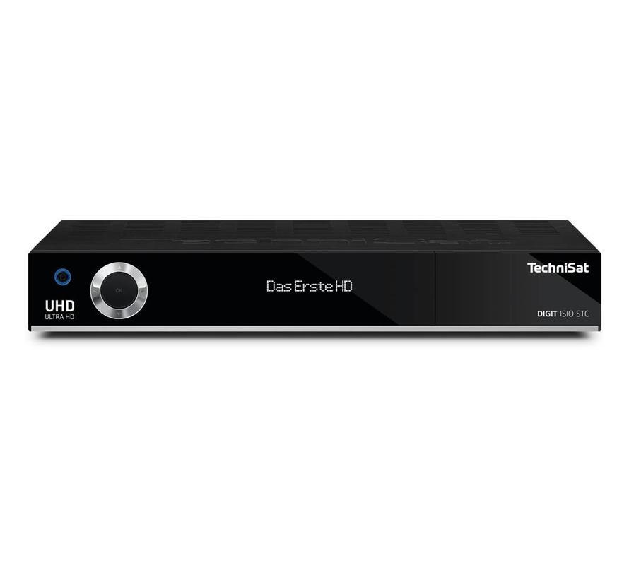 Technisat DIGIT ISIO STC+ Ultra HD 4K kleur zwart