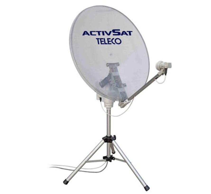 Teleco Activsat Smart Transparant 85cm TWIN