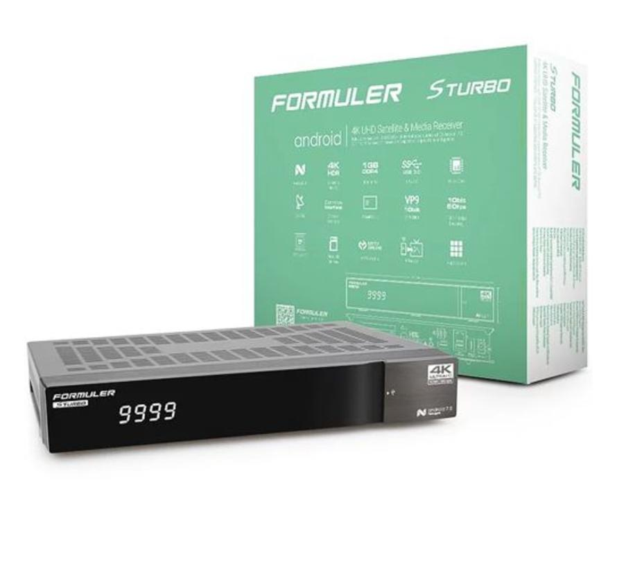 Formuler S Turbo  4K UHD DVB-S2 & OTT-IPTV Media Receiver