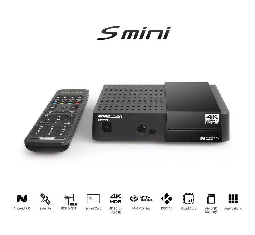 Formuler S Mini  4K UHD DVB-S2 & OTT-IPTV Media Receiver