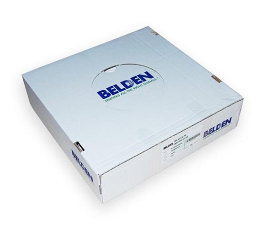Belden H125 PVC kleur wit per 100 meter