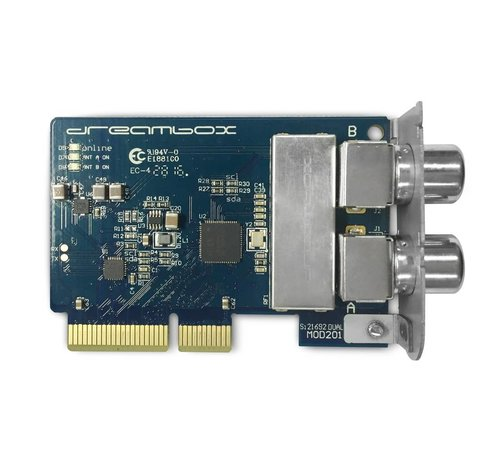 Dream Multimedia Dreambox DVB-C/T2 DUAL (TWIN) tuner