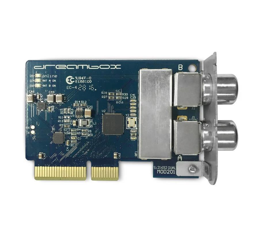 Dreambox DVB-C/T2 DUAL (TWIN) tuner