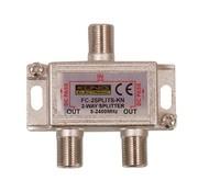 Konig Konig signaal splitter 2 voudig 5-2400Mhz