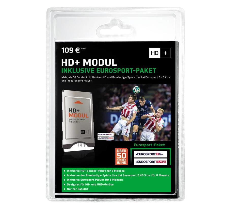 HD+ module CI+ en smartcard 6 maanden met Eurosport