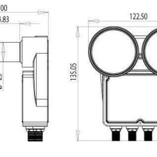 Inverto Inverto Astra-Hotbird monoblock QUAD 80
