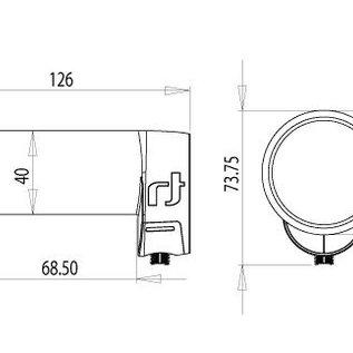 Inverto Inverto Ultra Black single LNB IDLB-SINL40-ULTRA-OPP