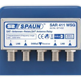 Spaun Spaun SAR 411 DiSEqC 2.0 switch 4/1