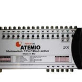 Atemio Atemio Multiswitch Premium-Line 17/12 voor 4 satellieten op 12 ontvangers