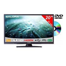 Salora Salora 20 Inch LED 9109 DVB C/T2/S2 + DVD 12V