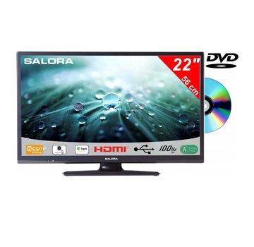 Salora Salora 22 Inch LED 9109 DVB C/T2/S2 + DVD 12V