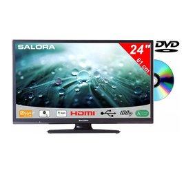Salora Salora 24 Inch LED 9109 DVB C/T2/S2 + DVD 12V