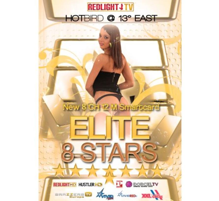 Redlight Elite 8 Stars jaarkaart Viaccess