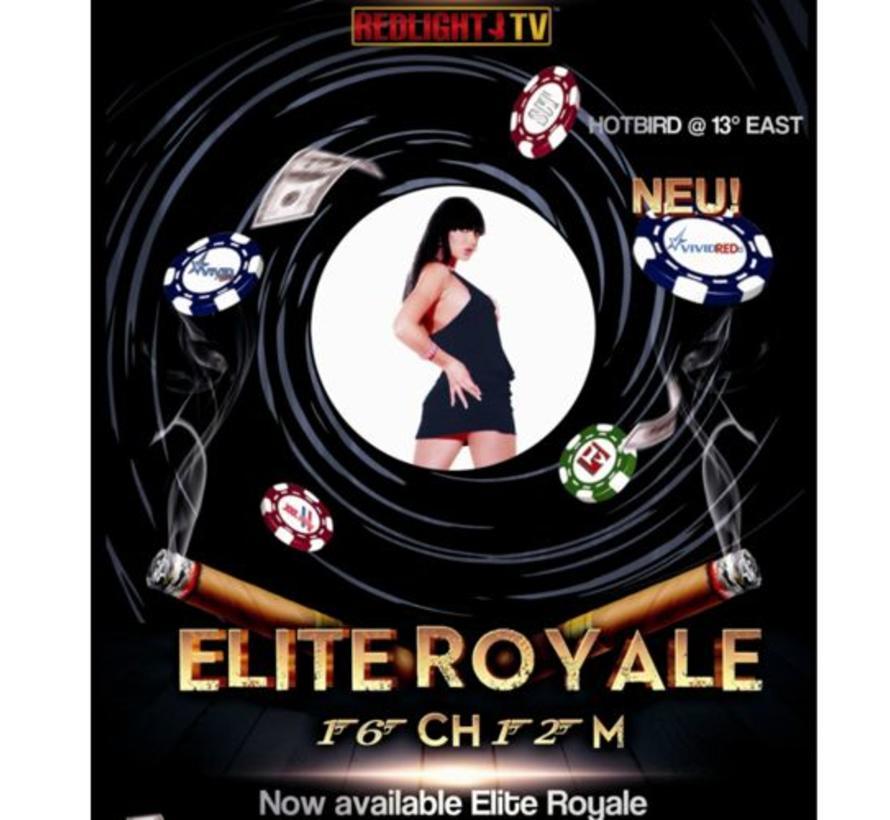Redlight Elite ROYALE 16 zenders Viaccess jaarkaart