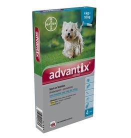 Bayer Advantix Hond 100/500 4kg-10kg