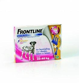 Merial Frontline Hond Spot On L 20kg tot 40kg
