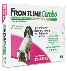 Merial Frontline Hond Combo L 20kg tot 40kg