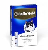 Bayer Bolfo Gold 80 voor katten vanaf 4kg - tegen vlooien