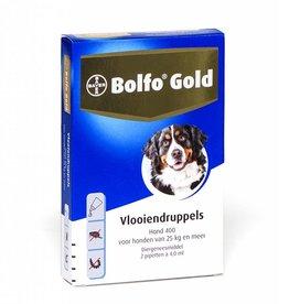 Bayer Bolfo Gold Hond 400 25kg-40kg 2 pipetten