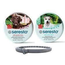 Bayer Seresto teken- en vlooienhalsband voor kleine honden tot 8kg - tot 8 maanden werkzaam