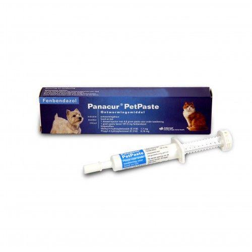 MSD Panacur PetPaste ontwormingspasta voor honden en katten van alle leeftijden